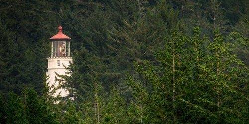 Lake and Lighthouse Van Tour
