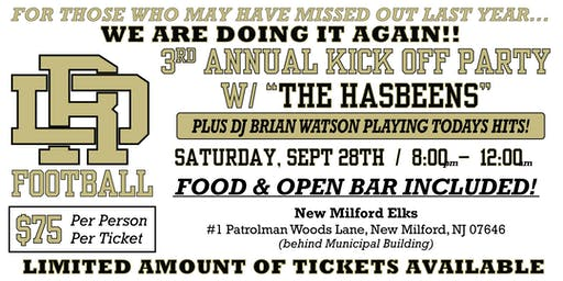 2019 3rd Annual Kickoff Party Fundraiser