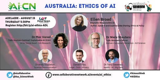 Ethics of Artificial Intelligence - National Science Week (Adelaide)