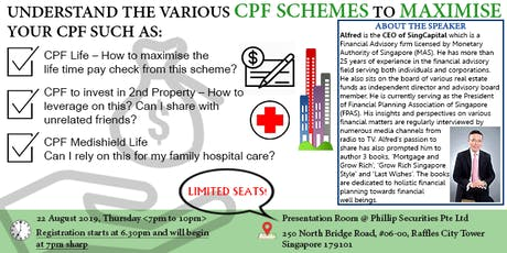 How to manage your CPF effectively? (Second run!) tickets
