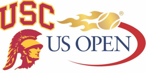 US Open Men's and Women's Quarterfinals with the USC Alumni Club of NY