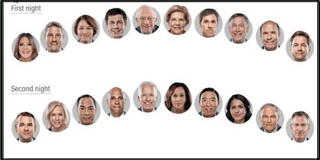 Second Round: Democratic Presidential Debate (East Van) - Tuesday, July 30 tickets
