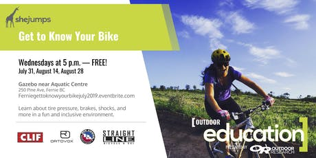 BC - Get to Know your Bike with SheJumps tickets