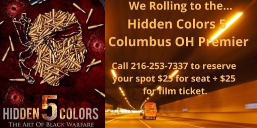 Little Africa presents: Our first trip to view Hidden Colors 5 in Columbus
