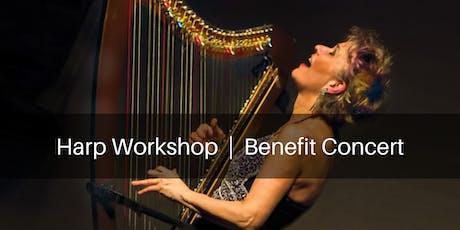 Benefit Concert with Electric harp virtuoso Deborah Henson-Conant tickets
