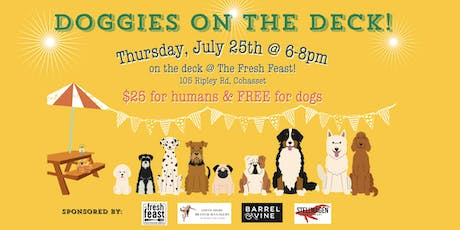 Doggies on the Deck! tickets