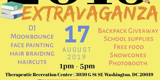 3rd Annual Back to School Extravaganza