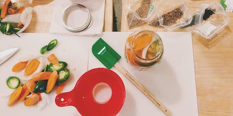 Saving the Season: Summer's fresh and fermented pickles tickets