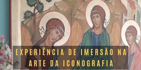 Experiência de Imersão na Arte da Iconográfica ingressos
