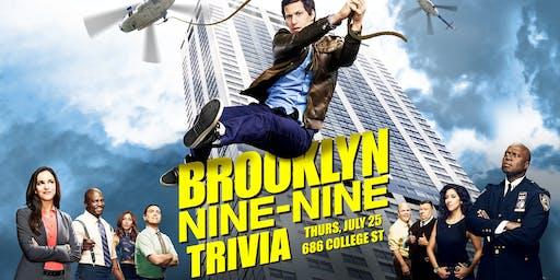 Trivia Thursday - Brooklyn Nine-Nine