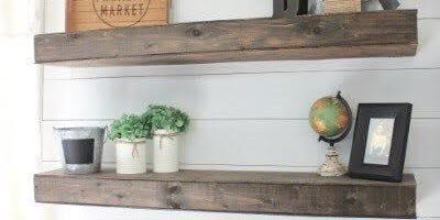 Create your own floating shelf workshop!