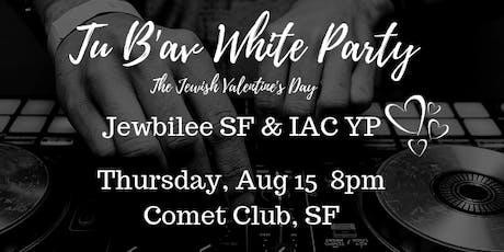 Tu B'av White Party tickets