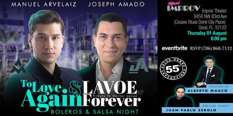 To Love Again & Lavoe Forever tickets
