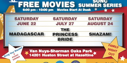 FREE MOVIE IN THE PARK!