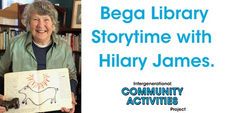 Bega Library story time with Hilary James. tickets