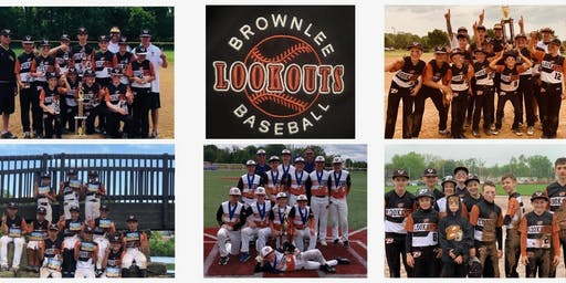 Brownlee Lookouts 13u Baseball Spring 2020 Tryouts ('06 players)