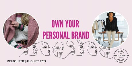 LEAGUE OF EXTRAORDINARY WOMEN // MELBOURNE - Own Your Personal Brand tickets
