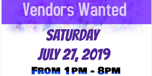 Vendors Wanted For Pop Up Shop Vendors Expo!!!