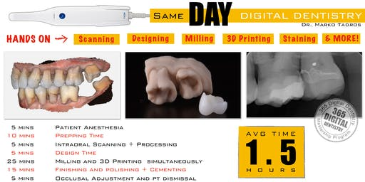 365 Digital Dentistry - SAME DAY CROWN Module