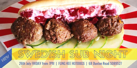 SWEDISH SUB NIGHT tickets