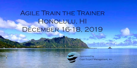 Train the Trainer for Agile Coaches, SPCs and Trainers tickets