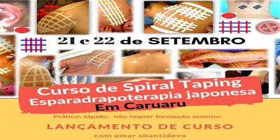 Curso de Spiral Taping - Caruaru