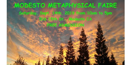 Modesto Metaphysical Faire tickets