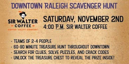 Downtown Raleigh Treasure Hunt - Sir Walter Coffee