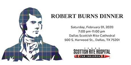 Robert Burns Fundraising Dinner tickets