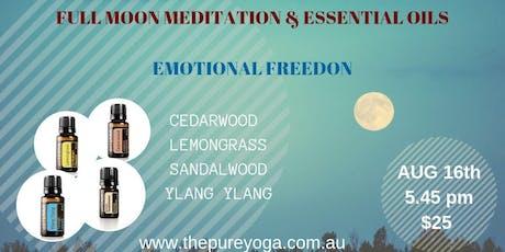 Fool Moon Meditation & Essential Oils tickets