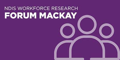 NDIS Workforce Research Forum Mackay