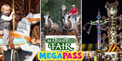 2019 Marshfield Fair Megapass and Advance Ticket Sales