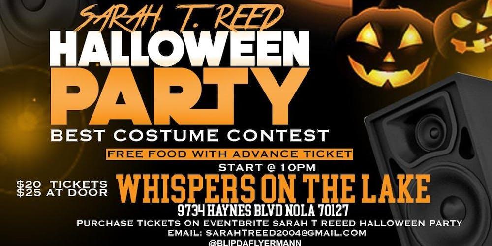 La Fete Halloween.Sarah T Reed S Alumni Halloween Party
