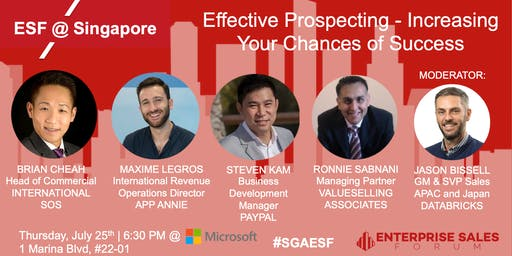 Effective Prospecting - Increasing your Chances of Success