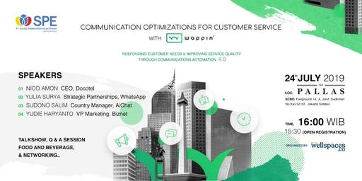 Communication Optimizations for Customer Services with WAPPIN