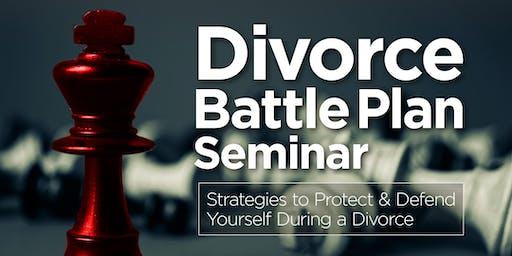 DIVORCE BATTLE PLAN & BUDGETING SEMINAR