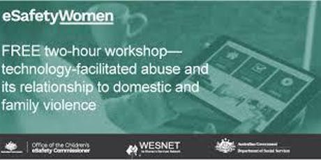 eSafety Women - front line free workers two hour workshop tickets