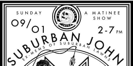 Suburban John (ex-Suburban Lawns) + Rats in Louvre + Terminal A tickets