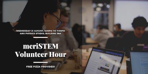 meriSTEM Volunteering Hour - August