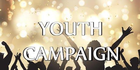 Youth Campaign/ Campaña Juvenil  billets