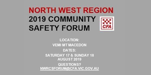 2019 North West Region Community Safety Forum