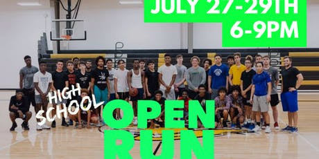 High School OPEN RUN tickets