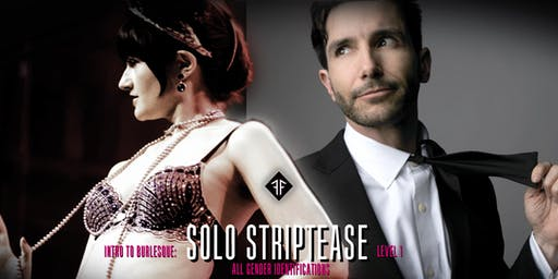 Intro to Burlesque: Solo Striptease - Level 1 - Fishnet Follies