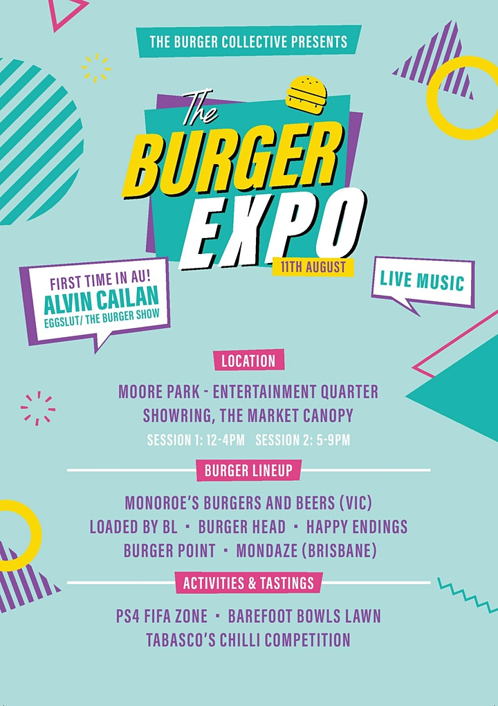The Burger Expo ft. Alvin Cailan (EggSlut and The Burger Show) image