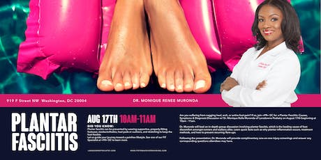 Plantar Fasciitis: Causes, Symptoms & Diagnosis Discussion powered by Lansdowne Podiatry  tickets
