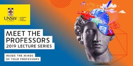 Meet the Professors – 16 September tickets