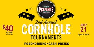 Peppinos Downtown Grand Rapids Cornhole Tournament