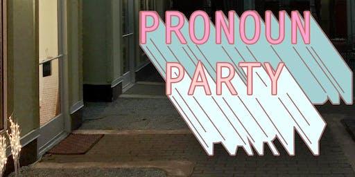 Pronoun Party NASHVILLE