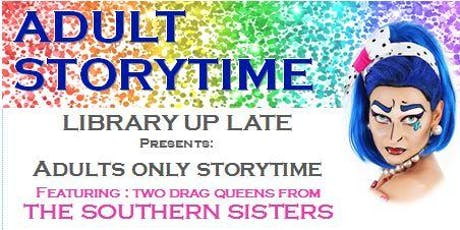 Adult Storytime - Library Up Late @ Noarlunga library tickets