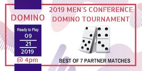Monument of Faith Men's Domino Tournament (Team's  tickets